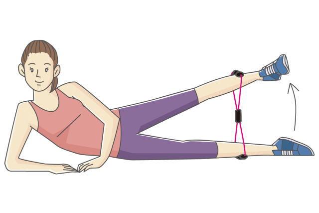 股関節のチューブエクササイズ(筋トレ)